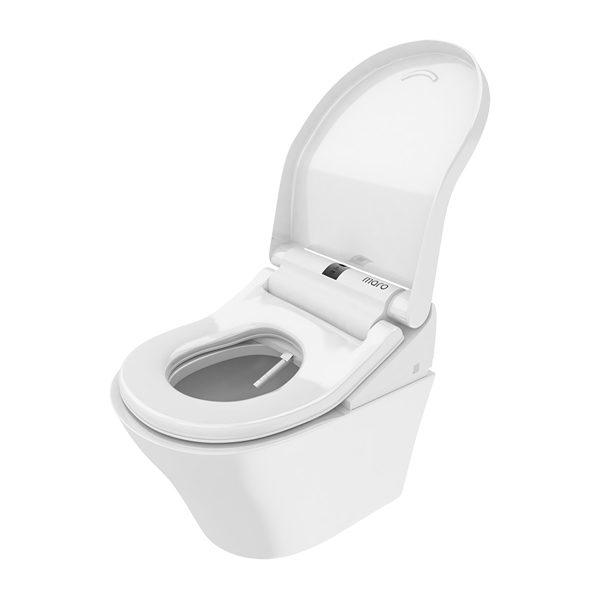 wc met sproeier