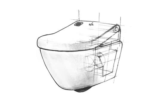 Spa wc van Frissebips