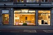 Toto showroom washlet