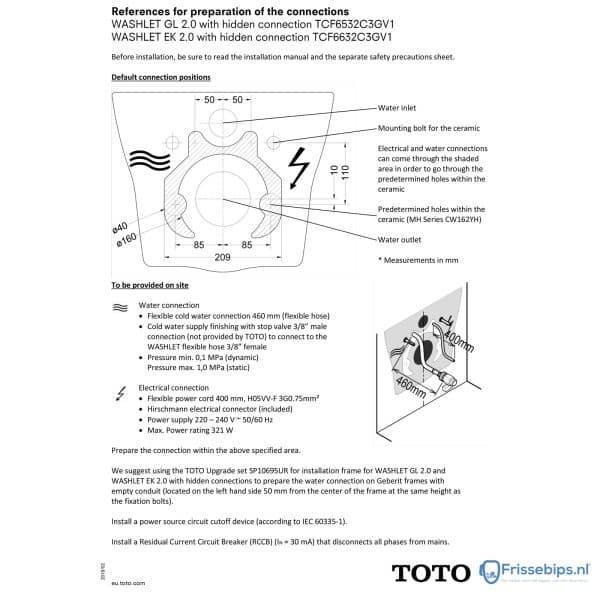 TOTO_installatie_tekening_washlet_ek_2_GL_2