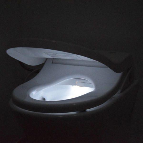 wc bril met lampje