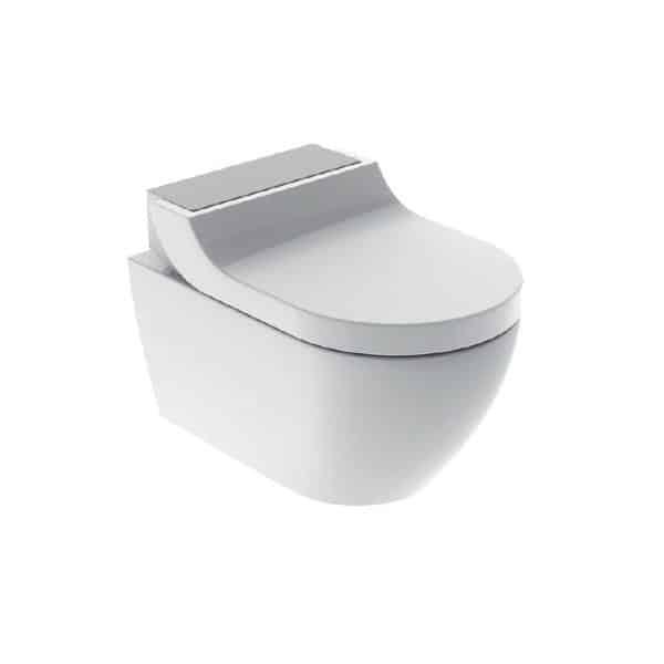 Geberit AquaClean Tuma set chrome design