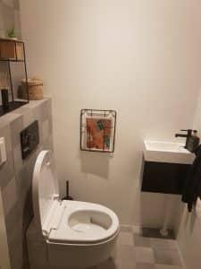 Geberit AquaClean Mera installatie