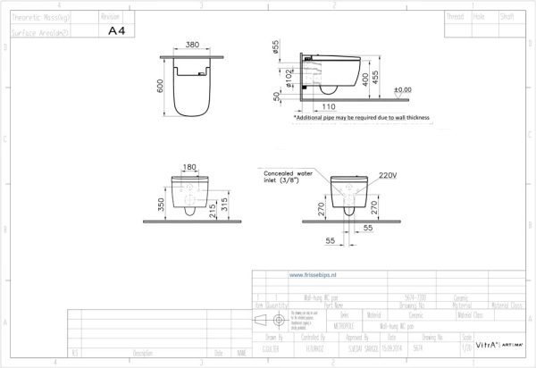 Vitra_Vcare_1.1_Technische_tekening_montage_installatie_frissebips
