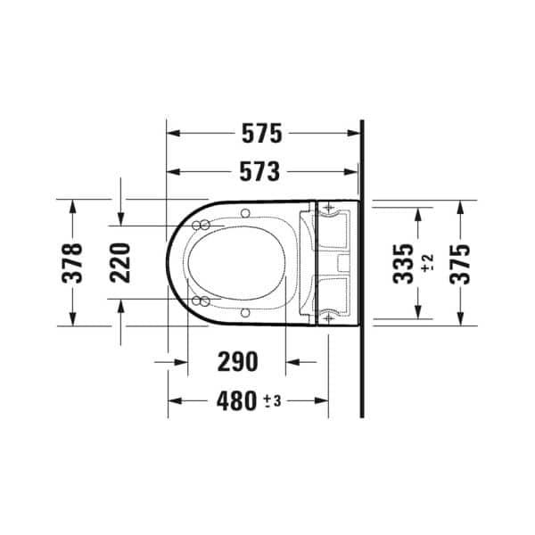 Duravit_Starck_F_technische_tekening_2